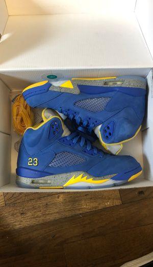 "Jordan 5 ""laney"" blue size 8 for Sale in New Orleans, LA"
