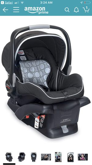 Britax B-Safe Infant Car Seat,...- with side impact protection for Sale in Sunnyvale, CA