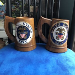 Two United States Navy Steins for Sale in Guilford, CT