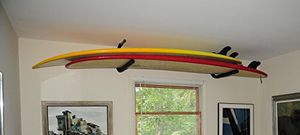 Ceiling rack for paddle boards or surfboards for Sale in Woodstock, GA
