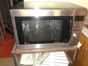 GE Microwave and convection oven, free stand included for Sale in Salt Lake City, UT