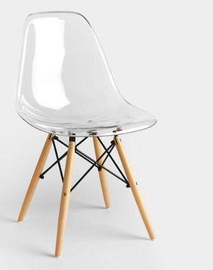 Acrylic desk/ vanity chair for Sale in Phoenix, AZ