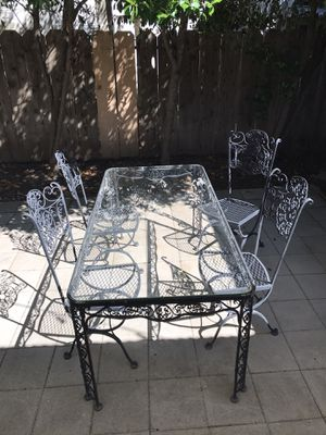 Russell Woodard 1964 Patio table for Sale in Chico, CA