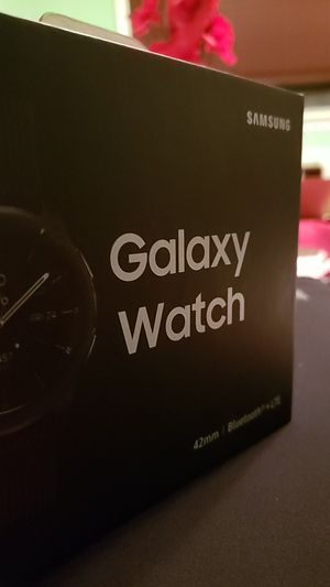 Samsung Galaxy Watch 42mm BRAND NEW IN BOX for Sale in Philadelphia, PA