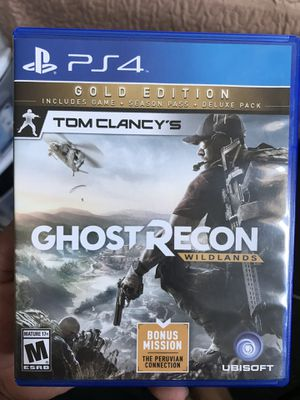 Ghost recon wild lands ps4 for Sale in Oakland, CA