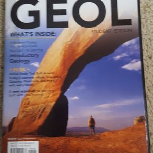 GEOL student edition by Wicander/Monroe GEOL101 at SCC New for Sale in Edmonds, WA