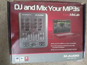 M-Audio torq mix lab dj digital pro for Sale in Sacramento, CA