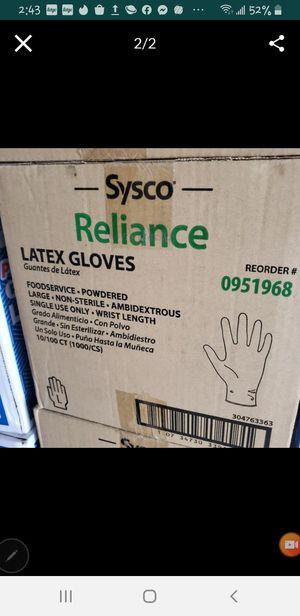 Sysco LATEX GLOVES for Sale in Miami, FL
