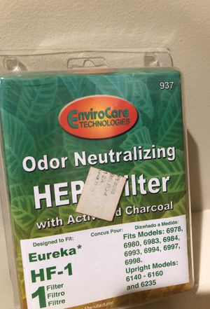 Eureka vacuum HEPA filter HF-1 for Sale in Tustin, CA