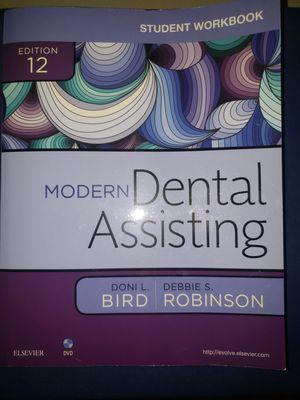 Modern Dental Assisting student wkrkbook for Sale in Montpelier, MD