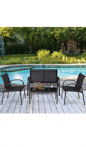 Outdoor patio furniture, 4pc patio set for Sale in Maricopa, AZ