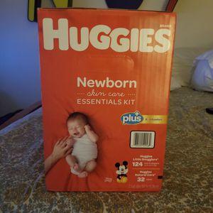 Huggies Newborn Essentials Kit for Sale in Suwanee, GA