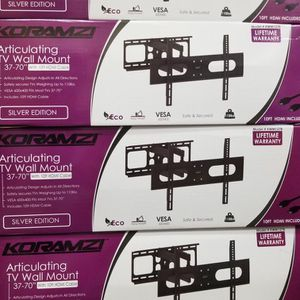 "FULL MOTION WALL MOUNT BRACKETS UP To 75"" LED TVS for Sale in Huntington Park, CA"