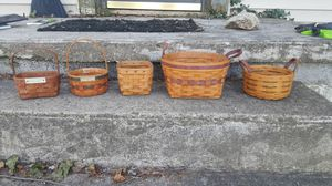 Longaberger baskets. for Sale in Canal Winchester, OH