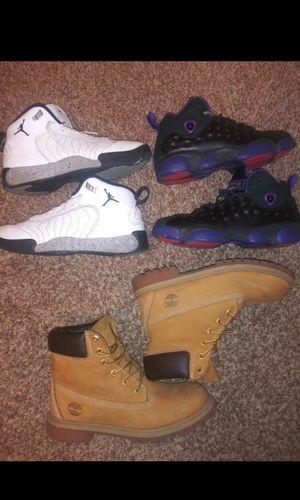 Jordans & Timberlands 6.5 & 7Y for Sale in Denver, CO