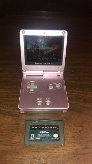 Game boy advance with 2 games and charger for Sale in Farmersville, CA