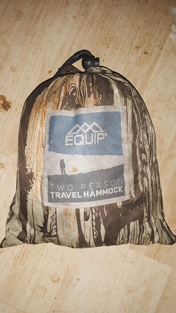 EQUIP two person travel hammock