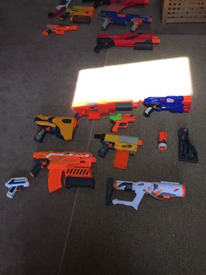 Nerf guns ORANGE DEEMOLISHER MISSING for Sale in Lakewood, WA