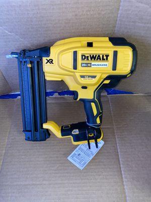 Dewalt 20V 18 Gauge Max XR Brushless Cordless Brad Nailer Bare Tool Only for Sale in Modesto, CA