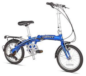 "Kent 16"" CRZ Aluminum Folding Commuter Bike, Blue for Sale in Austin, TX"