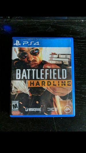 Battle field hardline Ps4 for Sale in Monroe, WA