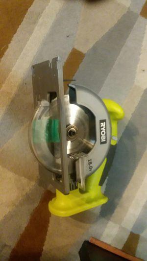 RYOBI. 18 V saw for Sale in Portland, OR