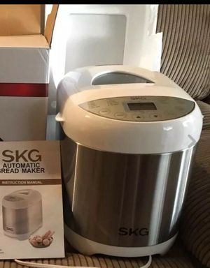 Skg 2LB automatic programmable bread machine multifunctional Bread maker 3950 like new open box never used In original for Sale in Las Vegas, NV