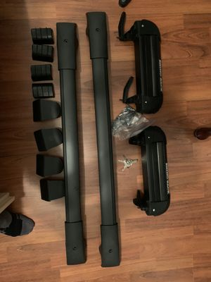 Adjustable roof bars and rod carrier for Sale in Centreville, VA