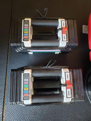 PowerBlock Elite 50 Stage 1 Set Adjustable Dumbbells Dummbbells Bowflex for Sale in Walnut, CA