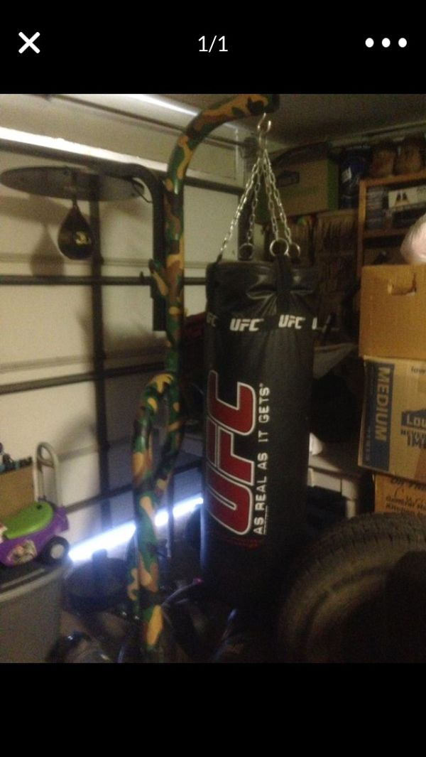 UFC heavy and speed bag