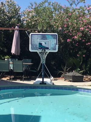 Poolside Basketball Hoop for Sale in Tempe, AZ
