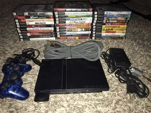Playstation 2 with 1 controller and 31 games for Sale in Beaverton, OR