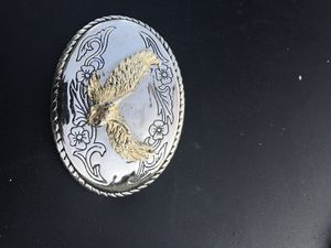 Belt buckle bald eagle for Sale for sale  Queens, NY