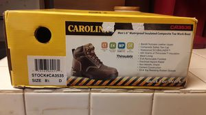 Carolina steel toed boots. Brand New for Sale in New Port Richey, FL