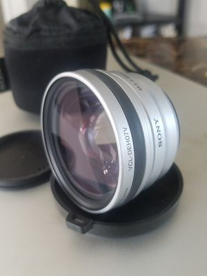SONY Wide angle end conversion lens for camera or photo for Sale in Long Beach, CA