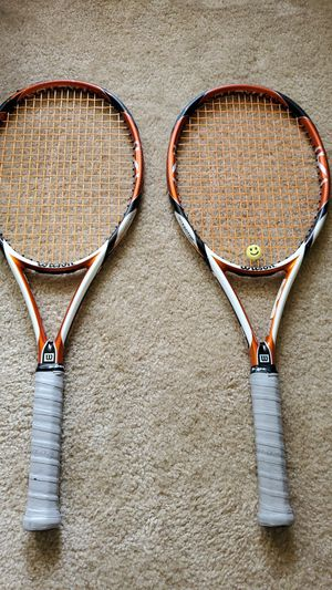 WILSON K TOUR tennis rackets 95 (2) for Sale in Ashland, VA