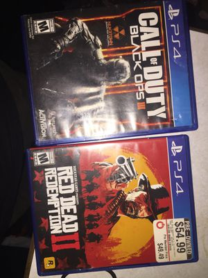 PS4 games for Sale in Concord, CA