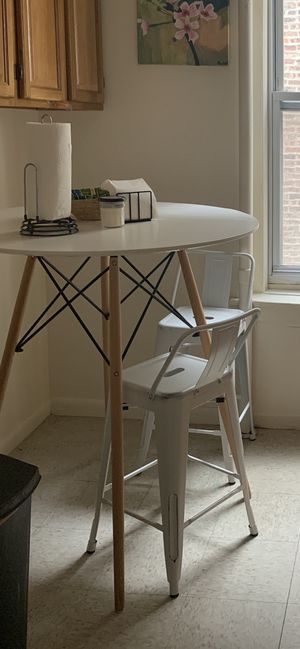 Mid-Century Modern Kitchen Table and Stools (sold together or separately) for Sale in New York, NY