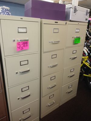 4 drawer hon filing cabinets for Sale in Tampa, FL