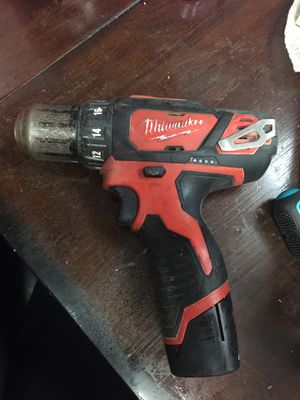 Milwaukee drill driver for Sale in Bakersfield, CA