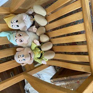 Disney Snow White Dwarf Dolls for Sale in Suffolk, VA