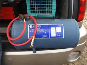 7 gallon Air tank for Sale in Greenville, NC