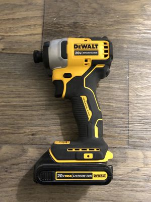 Dewalt Atomic Impact Driver (tool and battery) for Sale in Atlanta, GA