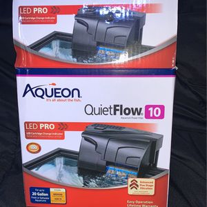 Aqueon Quiet Flow Aquarium Power Filter for Sale in Gig Harbor, WA