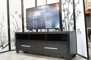 Alexa Tv Stand for Tvs up to 70 inch, Black, #27062TV for Sale in Santa Fe Springs, CA