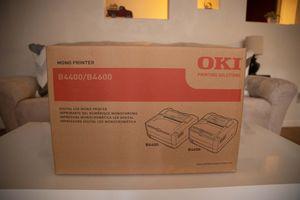 OKI B4600 Monochrome Laser Printer (Black) 62446601 New in Box for Sale in North Las Vegas, NV