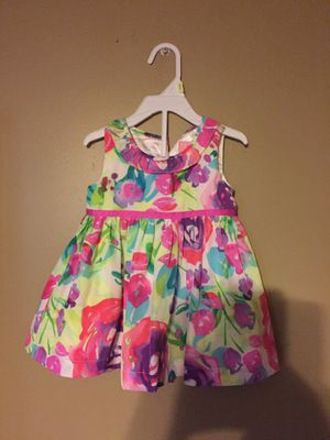 Girls 6 to 9 months Easter dress beautiful new no tags for Sale in New Brighton, PA