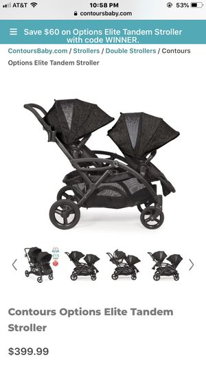 Contours Double Stroller for Sale in Kennewick, WA