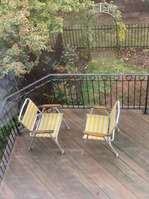 SPORTING EVENT/LAWN/DECK/POOL CHAIRS for Sale in Lansdowne, VA