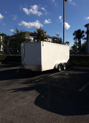 7 x14 enclosed trailer for Sale in Orlando, FL